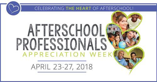 Afterschool Program Appreciation Week April 23rd