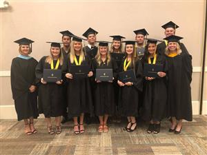 Seniors Graduate with Associates from Gulf Coast State College