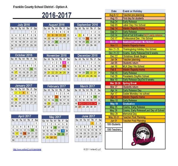 Pin District calendar on Pinterest